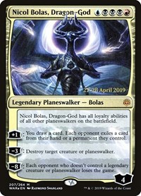 Nicol Bolas, Dragon-God, Magic: The Gathering, Prerelease Cards