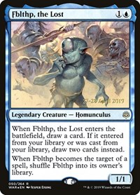 Fblthp, the Lost, Magic: The Gathering, Prerelease Cards