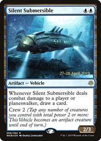 Silent Submersible, Magic: The Gathering, Prerelease Cards