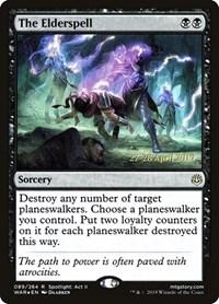 The Elderspell, Magic, Prerelease Cards