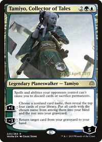 Tamiyo, Collector of Tales, Magic, Prerelease Cards