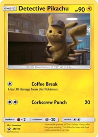Detective Pikachu - SM190, Pokemon, SM Promos