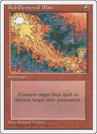 Red Elemental Blast, Magic: The Gathering, Fourth Edition