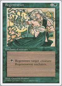 Regeneration, Magic: The Gathering, Fourth Edition