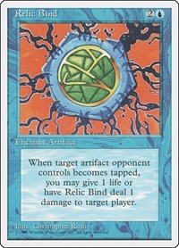 Relic Bind, Magic: The Gathering, Fourth Edition