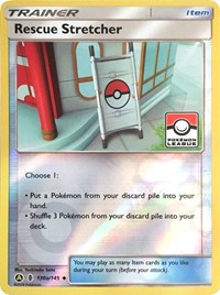 Rescue Stretcher - 130a/145 (League Promo), Pokemon, League & Championship Cards