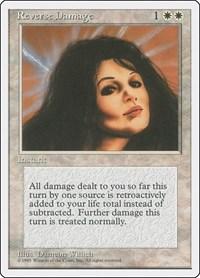 Reverse Damage, Magic: The Gathering, Fourth Edition