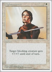 Righteousness, Magic: The Gathering, Fourth Edition