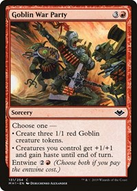 Goblin War Party, Magic: The Gathering, Modern Horizons