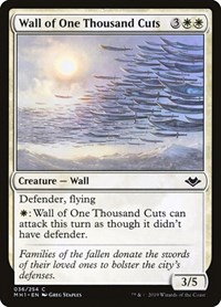 Wall of One Thousand Cuts, Magic, Modern Horizons