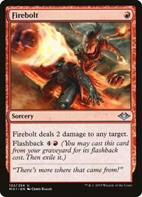 Firebolt, Magic: The Gathering, Modern Horizons