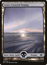 Snow-Covered Swamp, Magic: The Gathering, Modern Horizons