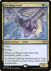 Ice-Fang Coatl, Magic: The Gathering, Modern Horizons