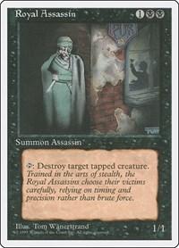 Royal Assassin, Magic, Fourth Edition