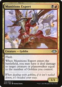 Munitions Expert, Magic, Modern Horizons