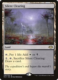 Silent Clearing, Magic: The Gathering, Modern Horizons