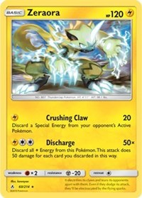 Zeraora - 60/214 (SM Unbroken Bonds) (Cracked Ice Holo), Pokemon, Deck Exclusives