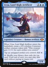 Urza, Lord High Artificer (Foil)