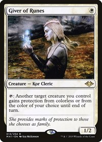 Giver of Runes, Magic: The Gathering, Modern Horizons