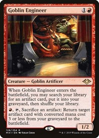 Goblin Engineer, Magic: The Gathering, Modern Horizons