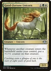 Good-Fortune Unicorn, Magic: The Gathering, Modern Horizons