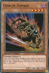 Goblin Zombie, YuGiOh, Speed Duel: Attack from the Deep