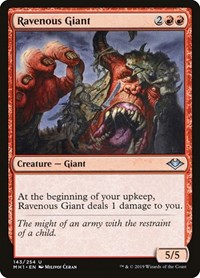Ravenous Giant, Magic: The Gathering, Modern Horizons