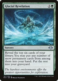 Glacial Revelation, Magic, Modern Horizons
