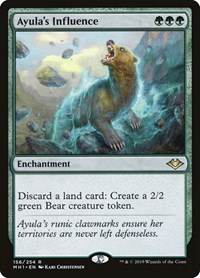 Ayula's Influence, Magic: The Gathering, Modern Horizons