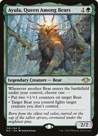 Ayula, Queen Among Bears, Magic: The Gathering, Modern Horizons