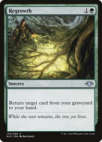 Regrowth, Magic: The Gathering, Modern Horizons