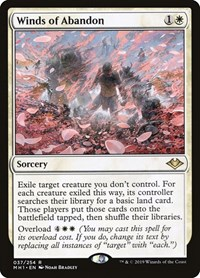 Winds of Abandon, Magic: The Gathering, Modern Horizons