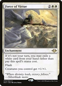 Force of Virtue, Magic: The Gathering, Modern Horizons
