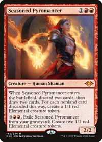 Seasoned Pyromancer, Magic: The Gathering, Modern Horizons