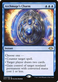 Archmage's Charm, Magic: The Gathering, Modern Horizons