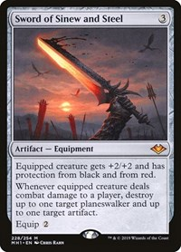 Sword of Sinew and Steel (Foil)