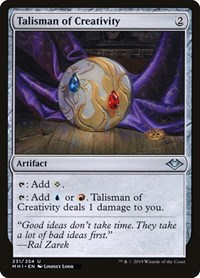 Talisman of Creativity, Magic: The Gathering, Modern Horizons