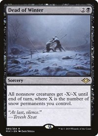 Dead of Winter, Magic: The Gathering, Modern Horizons