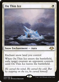 On Thin Ice, Magic: The Gathering, Modern Horizons
