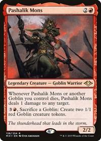 Pashalik Mons, Magic: The Gathering, Modern Horizons