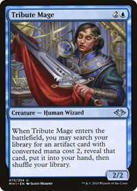Tribute Mage, Magic: The Gathering, Modern Horizons