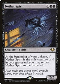 Nether Spirit, Magic: The Gathering, Modern Horizons