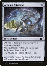 Arcum's Astrolabe, Magic: The Gathering, Modern Horizons