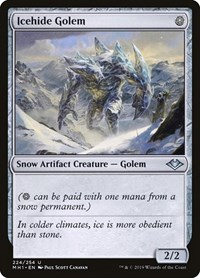 Icehide Golem, Magic: The Gathering, Modern Horizons