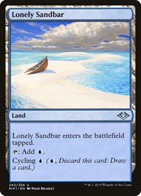 Lonely Sandbar, Magic: The Gathering, Modern Horizons