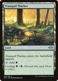 Tranquil Thicket, Magic: The Gathering, Modern Horizons