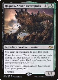Hogaak, Arisen Necropolis, Magic, Modern Horizons