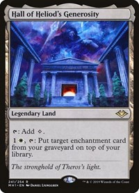 Hall of Heliod's Generosity, Magic: The Gathering, Modern Horizons