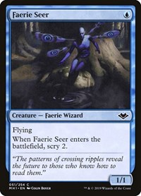 Faerie Seer, Magic: The Gathering, Modern Horizons