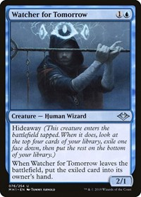 Watcher for Tomorrow, Magic, Modern Horizons